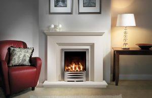Cranbourne Fireplace Suite In Chiltern Jurastone
