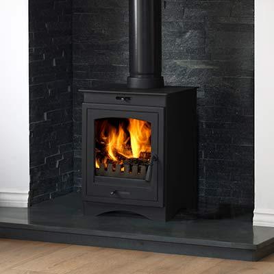 Helios 5 clean burn stove