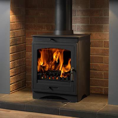 Helios 8 clean burn stove