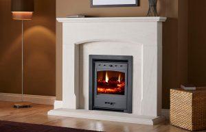 Helios inset clean burn stove