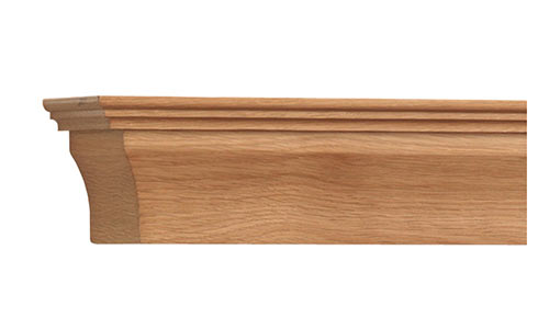 Contemporary Shelf Natural Oak