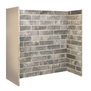 Grey Ceramic Brick Bond Chamber