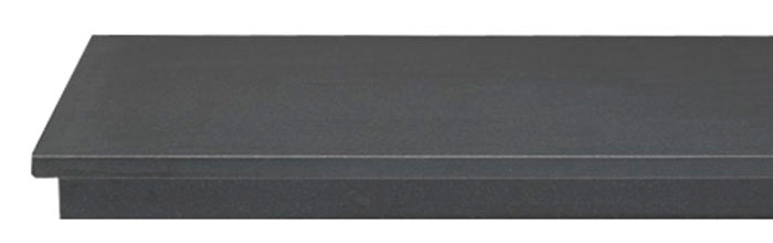Ebony Granite Hearth
