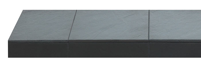 Porcelain Slate Tile Hearth