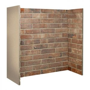 Red Ceramic Brick Bond Chamber