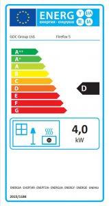 Firefox 5 Gas Stove Energy Label