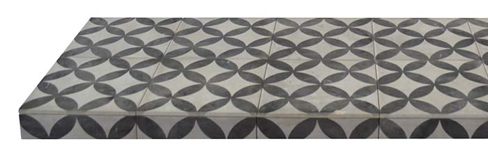 Star Ceramic Tiled Hearth